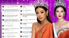 Khánh Vân đẹp 'chuẩn Miss Universe', fan quốc tế dậy sóng: 'Hơn hẳn hoa hậu nước tôi'