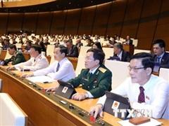 Thông qua Luật sửa đổi, bổ sung một số điều của Luật Tổ chức Quốc hội