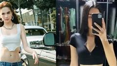 Người đẹp HHHV Việt Nam đụng hàng cùng Ngọc Trinh quần thách thức