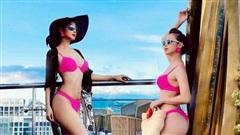 Jennifer Phạm mặc bikini khoe đường cong gợi cảm sau 5 tháng sinh con gái thứ tư