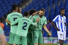 Vòng 30 La Liga: Real Madrid chiếm ngôi đầu bảng