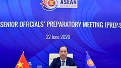 Hình ảnh phiên Khai mạc Hội nghị trù bị Quan chức cao cấp ASEAN