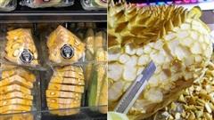 Đi siêu thị Mỹ, cô nàng châu Á choáng váng khi thấy múi mít kì dị và một loạt các loại quả khác cũng bị 'hành hạ' không thương tiếc