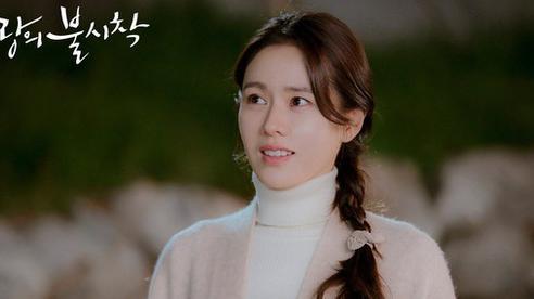 Sau thời gian im lặng vì hành động bấm like ảnh 'người tình' Hyun Bin, Son Ye Jin xuất hiện lên với hành động đáng yêu