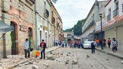 Động đất mạnh ở Mexico khiến 5 người thiệt mạng, cảnh báo nguy cơ sóng thần