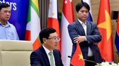Toàn cảnh các Hội nghị trực tuyến cấp Bộ trưởng Ngoại giao ASEAN sáng 24/6