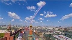 Những hình ảnh ấn tượng về Lễ duyệt binh kỷ niệm 75 năm Ngày Chiến thắng phát xít tại Moscow, Liên bang Nga