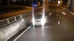 Điều khiển ô tô chạy ngược chiều trên cao tốc Đà Nẵng – Quảng Ngãi, tài xế bị xử phạt 17 triệu đồng, tước GPLX 6 tháng