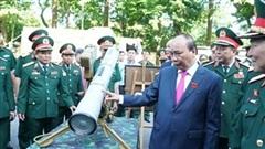 Tên lửa chống tăng 9M113 Konkurs Việt Nam lần đầu xuất hiện