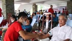 Trên 1.000 người tham gia Ngày hội hiến máu 'Giọt hồng Cao Nguyên'