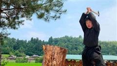 Thạc sĩ Nhật Bản hóa thân thành ninja