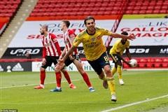 Arsenal thắng sát nút Sheffield Utd