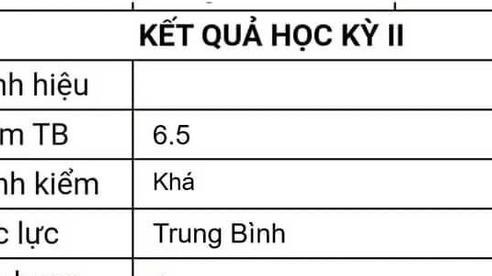 Sự thật ngã ngửa phía sau việc cậu học sinh học lực trung bình, tổng kết 6.5 vẫn là người giỏi nhất lớp?