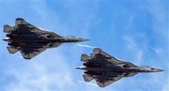 Siêu tiêm kích Su-57 có thể điều khiển Su-35 tác chiến từ xa