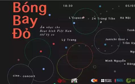 Bóng bay đỏ: Âm nhạc cho hoạt hình Việt Nam thế kỷ 20