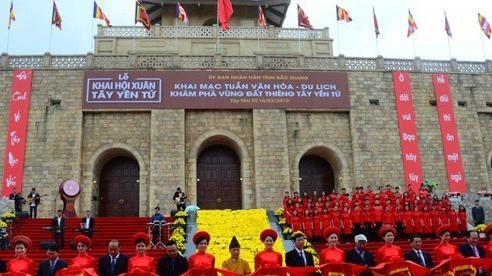 Tổng lượng khách du lịch đến Bắc Giang giai đoạn 2016-2020 ước đạt khoảng 7,7 triệu lượt