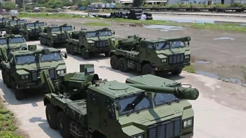 Trung-Ấn cùng điều pháo hạng nặng đến biên giới