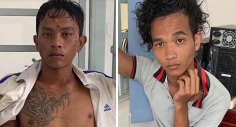 Hai thanh niên bị bắt sau 2 giờ cướp điện thoại