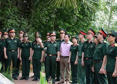 Cục Bảo vệ an ninh Quân đội hành quân về nguồn tri ân người có công