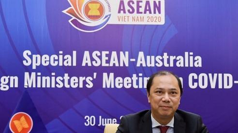 ASEAN - Australia đẩy mạnh hợp tác, nâng cao cảnh giác trước làn sóng thứ hai của dịch Covid-19