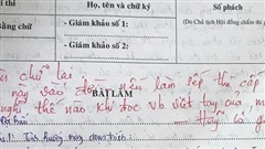 Những pha 'chọc ngoáy' học sinh bằng lời phê cực chất của giáo viên: Thánh cà khịa là đây chứ đâu!