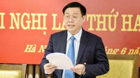 UVBCT, Bí thư Thành ủy Hà Nội Vương Đình Huệ:Khó khăn, thách thức là tiền đề tạo sức bật mới cho tăng trưởng