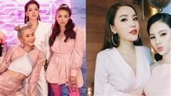 2 hội chị em mặc đẹp Vbiz: Một hội toàn hot girl đình đám, một hội toàn mỹ nhân đẹp chuẩn Hoa hậu