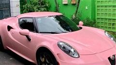 Alfa Romeo 4C Launch Edition độc nhất Việt Nam 'nữ tính' hơn với lớp decal màu hồng độc đáo