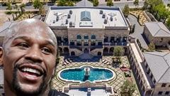 Floyd Mayweather khiến các fan trầm trồ với màn khoe dinh thự trị giá 550 tỷ: Siêu xe chất đầy garage, tủ đồ hiệu to bằng cả cái nhà