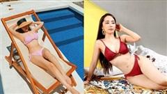 Quỳnh Nga diện bikini nóng bỏng, tiếp tục 'thả thính' cực mạnh