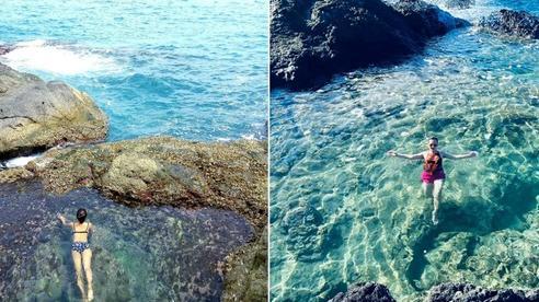 Ngay tại Việt Nam cũng có 3 'hồ bơi giữa biển' đẹp y hệt nước ngoài, hoang sơ đến nỗi rất hiếm du khách biết đến