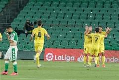 Vòng 33 La Liga: Villarreal thắng dễ dàng Real Betis