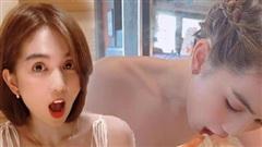 Ngọc Trinh ăn uống thả ga nhưng vẫn có vòng eo con kiến, đến cả trợ lý cũng phải ghen tỵ hỏi tại sao?