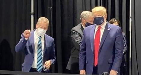 Mỹ phá kỷ lục về số ca COVID-19 mới, ông Trump nói sẽ đeo khẩu trang