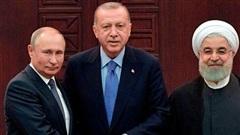 Thượng đỉnh Nga-Thổ-Iran giảm nhiệt Syria