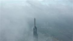 TP.HCM mờ mịt trong không khí ở mức có hại