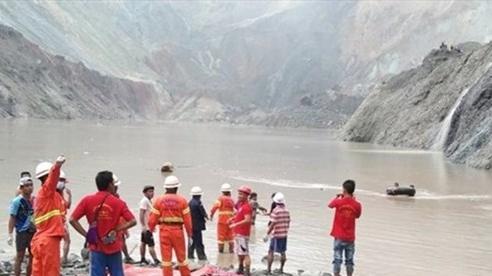 Thảm họa sập mỏ đá quý ở Myanmar, ít nhất 113 người thiệt mạng