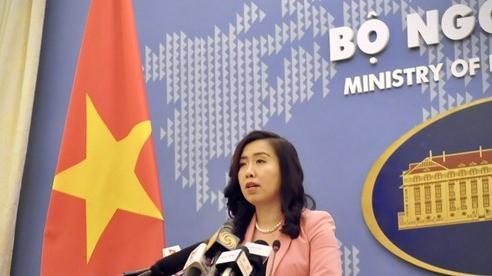 Việt Nam phản đối những hành động sai phạm của Trung Quốc trên Biển Đông