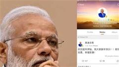 Thủ tướng Ấn Độ 'nghỉ chơi' mạng xã hội Weibo của Trung Quốc