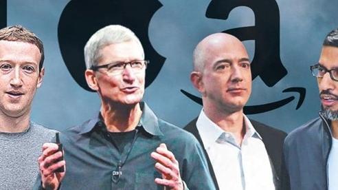 Tim Cook, Mark Zuckerberg, Jeff Bezos, Sundar Pichai cùng nhau ra điều trần trước Quốc hội