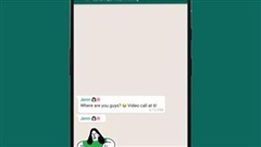 WhatsApp thêm nhãn dán hoạt hình mới cho tin nhắn trên Android và iOS