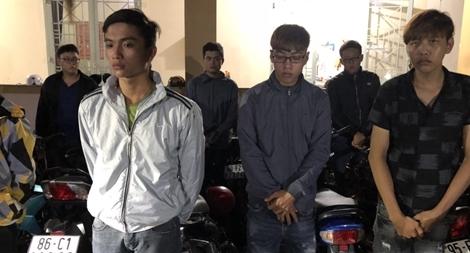 Bắt 24 'quái xế' tụ tập đua xe ở Đồng Nai