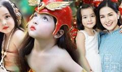 Mê mẩn với nhan sắc trời cho của con gái mỹ nhân đẹp nhất Philippines, mới 5 tuổi cát-xê đã 'vượt mặt' mẹ