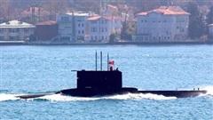 Tàu ngầm Thổ bị ngắt tín hiệu khi đến gần Libya