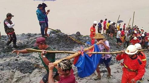 Tìm thấy 166 thi thể nạn nhân vụ sập mỏ đá quý ở Myanmar