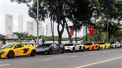 Dàn siêu xe đủ sắc màu hội ngộ tại Sài Gòn, có những chiếc với lai lịch đặc biệt