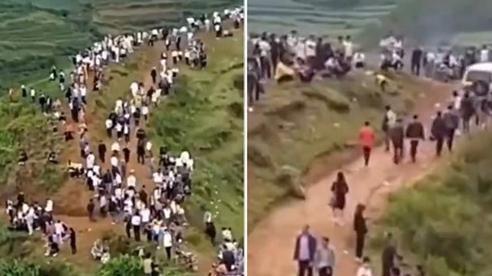 Hàng nghìn người dân Trung Quốc đổ lên núi vì tiếng 'rồng gầm rú'
