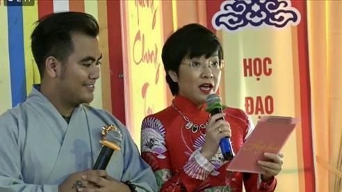 MC Thảo Vân – Tịnh Khoa: 'Lễ Hằng Thuận là cây cầu nối giữa đạo và đời'