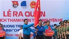 Bình Phước: Ra quân Chiến dịch 'Thanh niên tình nguyện hè' 2020