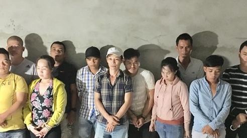 Triệt phá ổ xóc đĩa do Thành ' Cụt' tổ chức
